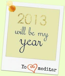 2013 será mi año