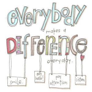 Hacer la diferencia. YO AMO MEDITAR