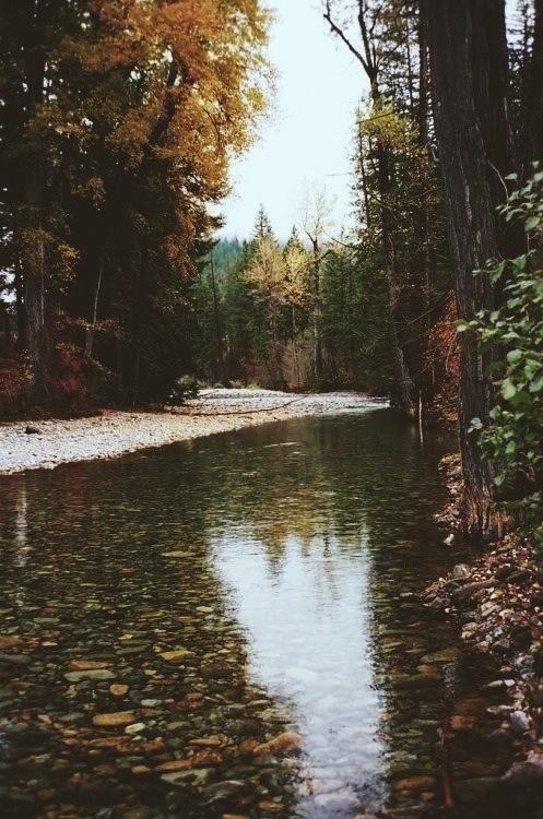 river Yo amo meditar