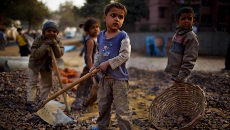 Trabajo infantil. YO AMO MEDITAR
